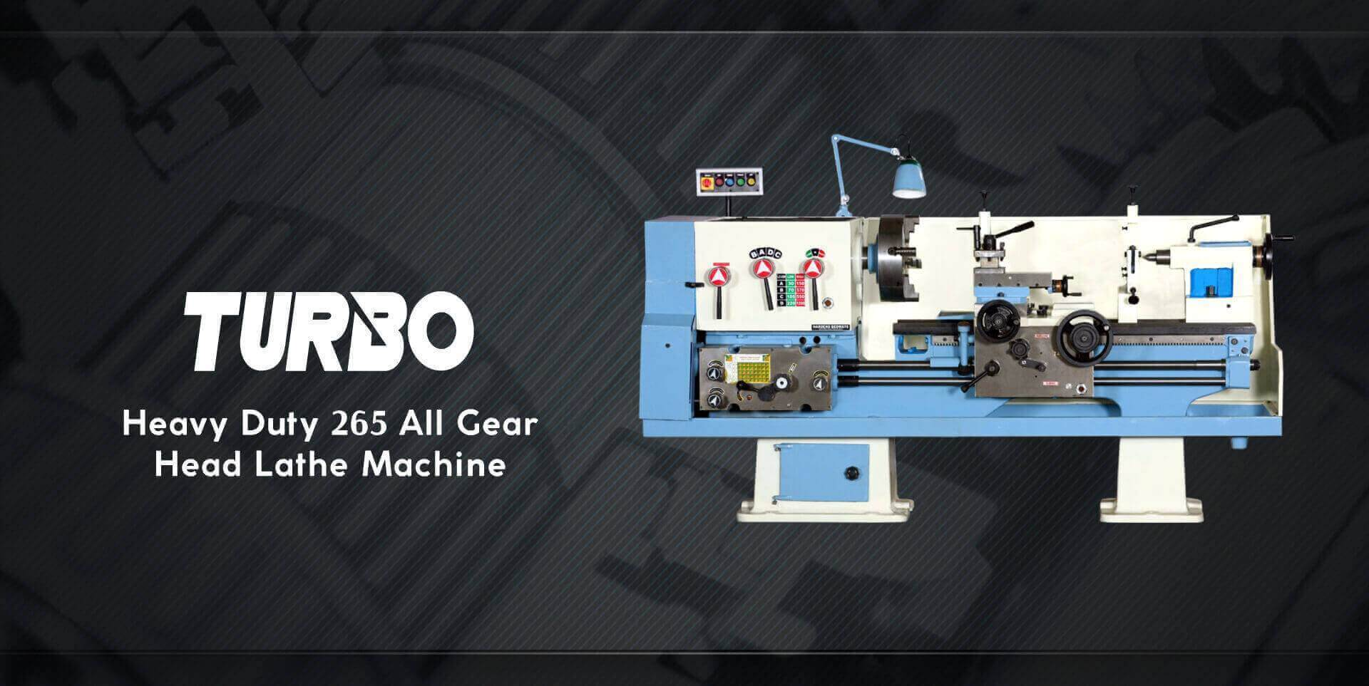 All Gear lathe Machine | Macpower Industries